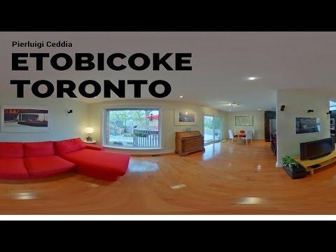 #360VR Virtual Tour Pierluigi Ceddia Etobicoke Real Estate