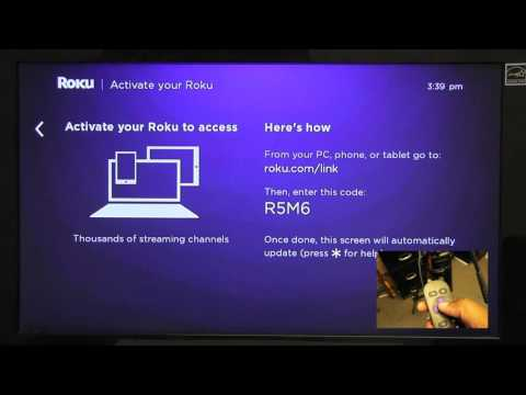 How to Activate your Roku Player with EnovativeTV C.S