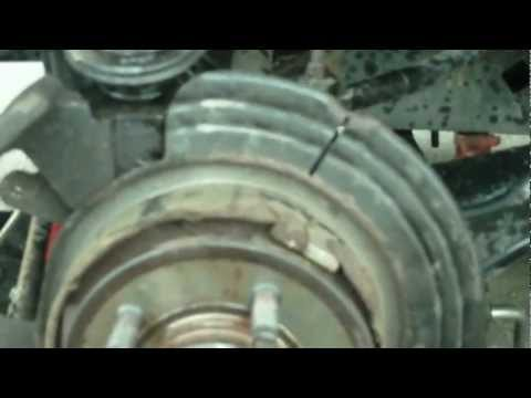 Ford Explorer Independent Rear Suspension, Rear Wheel Bearing and Hub Replacement