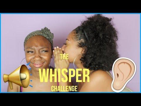The Whisper Challenge  Tatyana Celeste ❤︎