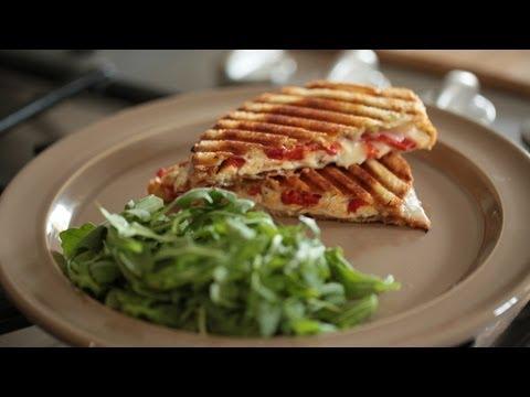 Turkey Panini Sandwich Recipe || KIN EATS