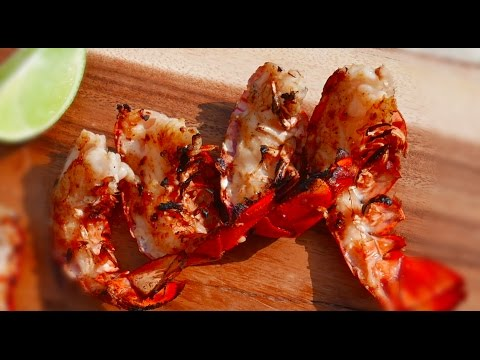 LOBSTER TAIL RECIPE Grilled with Butter and Garlic