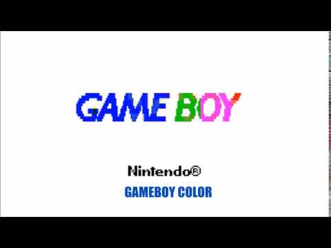 All Game Boy Startup Screens / Boot Up Screens