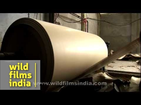 Recycling of paper in India