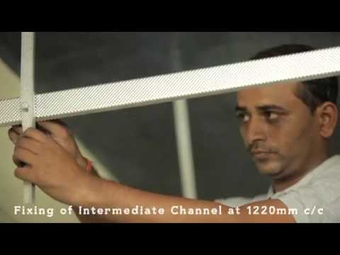 Gyproc Ceilings Installation  | Gyproc Plasterboard Ceilings - Hindi