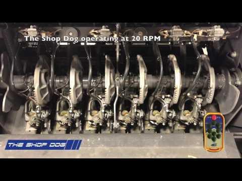 The Shop Dog-Knotter Cycle on Massey Ferguson 2270