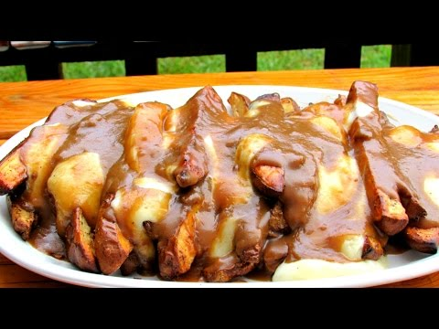 How To Make Poutine - Grilled Poutine Recipe - French Fries, Gravy and Cheese