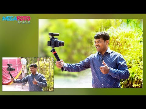 Photoshop CC Tutorial in Hindi | Camera Raw Filter | Color Effect