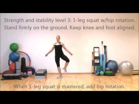 Strong legs Stable knees Super shape III | Marina Aagaard, MFE