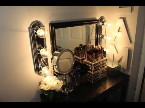 DIY: Makeup Hollywood Vanity Lights
