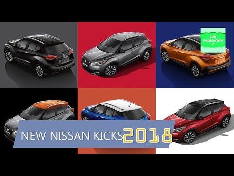 2018 NISSAN KICKS New Choose Color & Exterior Interior, Full Efficiency