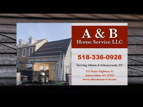 A & B Home Service LLC | Schenectady NY Roofing Contractors