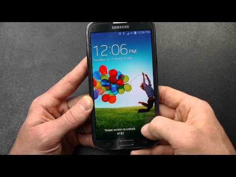Quick Look: Android 4.4.2 KitKat Touchwiz Note2 AT&T