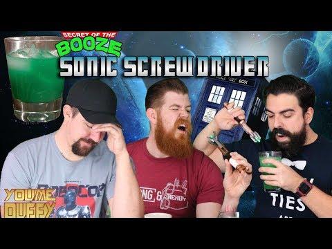 Sonic SCREWDRIVER Taste Testing