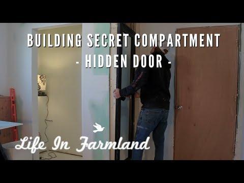 Building A Secret Door For Wall Hiding Place