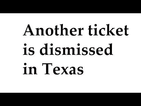 Rulon Gets Ticket Dismissed in Texas - Prosecutor Withdraws Again