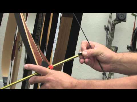 Archery Tip of the week | Bowfishing - How to setup a recurve or long bow for bow fishing