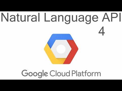 Natural Language API - Google Cloud Python Tutorials p.4