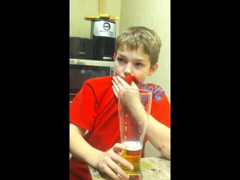 Sparkling Apple Cider April Fools Prank on Deacon.. Part 1