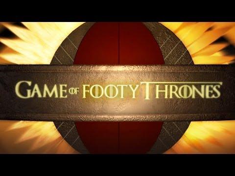 Game of Footy Thrones - AFL Season 2014