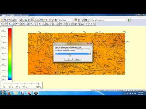 Create Contour Global Mapper