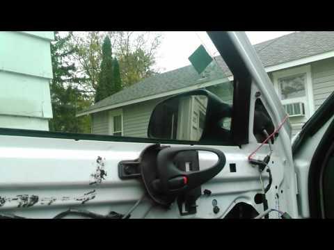 Grand am window regulator replaced