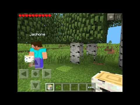 Minecraft PE. Modo Supervivencia T1 E1 Multiplayer