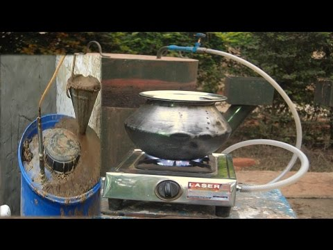 How To Make Home Made Gobar gas plant By Rajiv Dixit