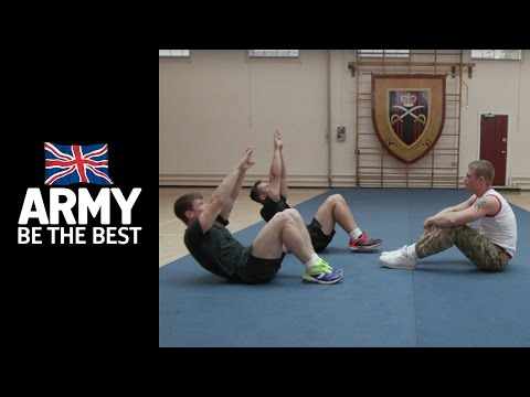 11 Days to get Army Fit: Crunches - Fitness - Army Jobs