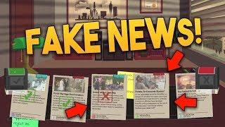 RUNNING THE FAKE NEWS (HEADLINER #1) - Media Bias Adventure