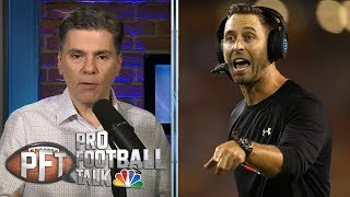 Hiring Kliff Kingsbury a big gamble for Arizona Cardinals | Pro Football Talk | NBC Sports