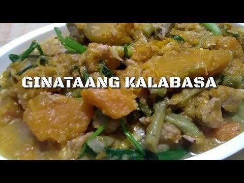 GINATAANG KALABASA WITH SITAW AND PORK | PINAY KUSINERA
