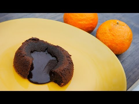 Chocolate Orange Molten Cake