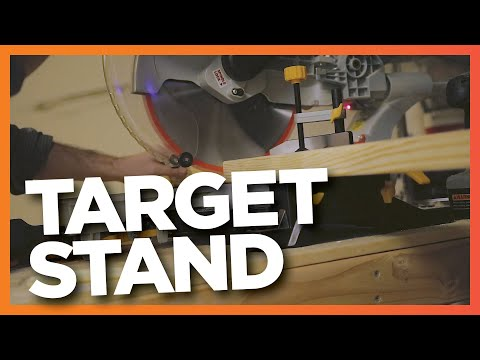Let's Build a Target Stand