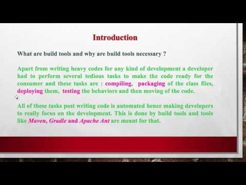 Introduction to Apache ANT build tool