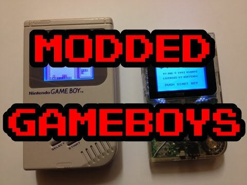 Nintendo Gameboy DMG/classic/original & Pocket - Sceen Modded!