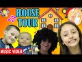 HOUSE TOUR 1.0 🎵 Raptain Hook (Lexi, Shawn, Chase, Mom & Dad Rooms FV Family Vlog Cartoon Song)