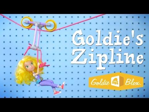 How to Build Goldie's Zipline