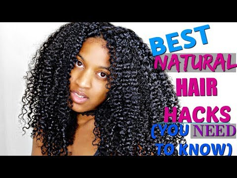 Best Natural Curly Hair HACKS YOU NEED TO KNOW (2018)