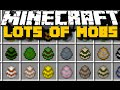 Minecraft: LOTS OF MOBS MOD (Dinosaurs, Lions & More) With Over 45 New Mobs!