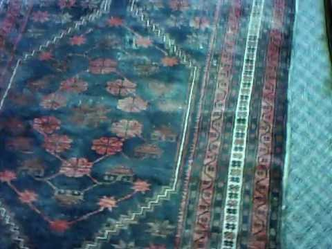 Water Damaged Rugs get a New Clean Life