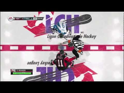 NHL 12: Be a Pro Episode 1 - Starting in the OHL