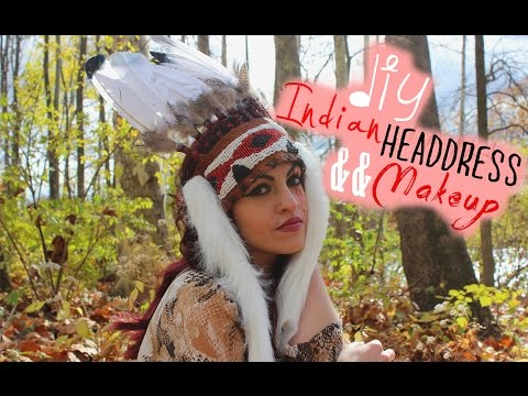 DIY Native American  Headdress