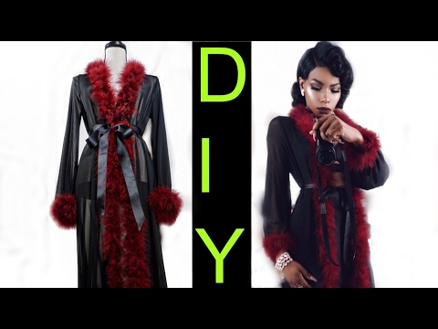 $40 FUR TRIM GOWN HOW TO BAD AND BOUJEE VALENTINE'S DAY/NIGHT EDITION