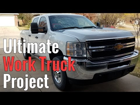 Ultimate Work Truck Project Part 2 - Repairs & Graphics