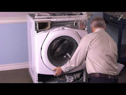 Whirlpool Washer Repair - How to Replace the Bellow