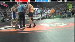 152 Adam Blees vs. Kristian Mendez