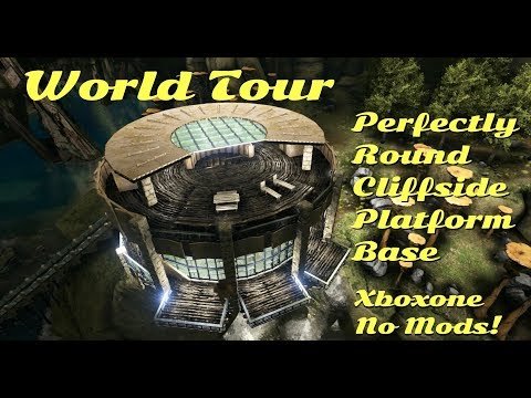 World Tour of Captain Fat Dogs Round Cliffside Platform Base!