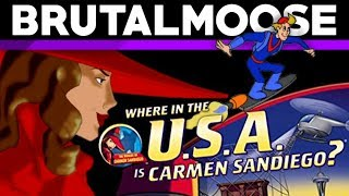 Where in the USA is Carmen Sandiego? - PC Game Review - brutalmoose