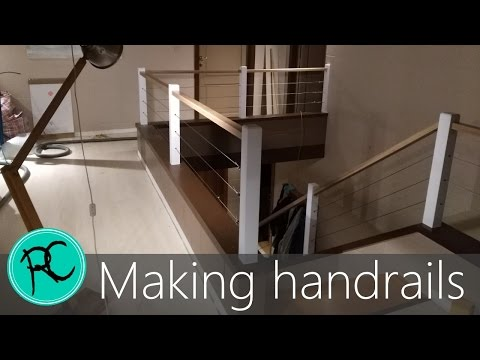Oak & Steel cable handrails